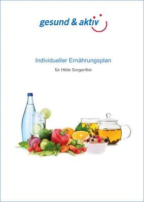 Ernährungplan Titel